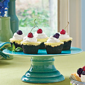 Chocolate Key Lime Cupcakes