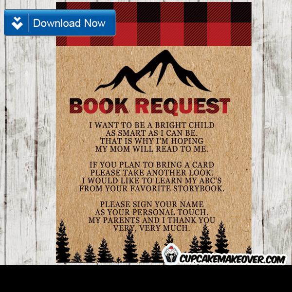 Lumberjack Book Request Wilderness Buffalo Plaid