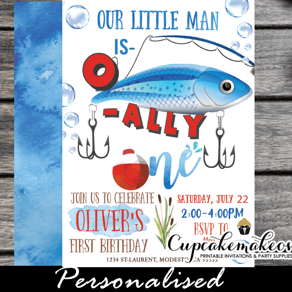 o fish ally one invitations fishing