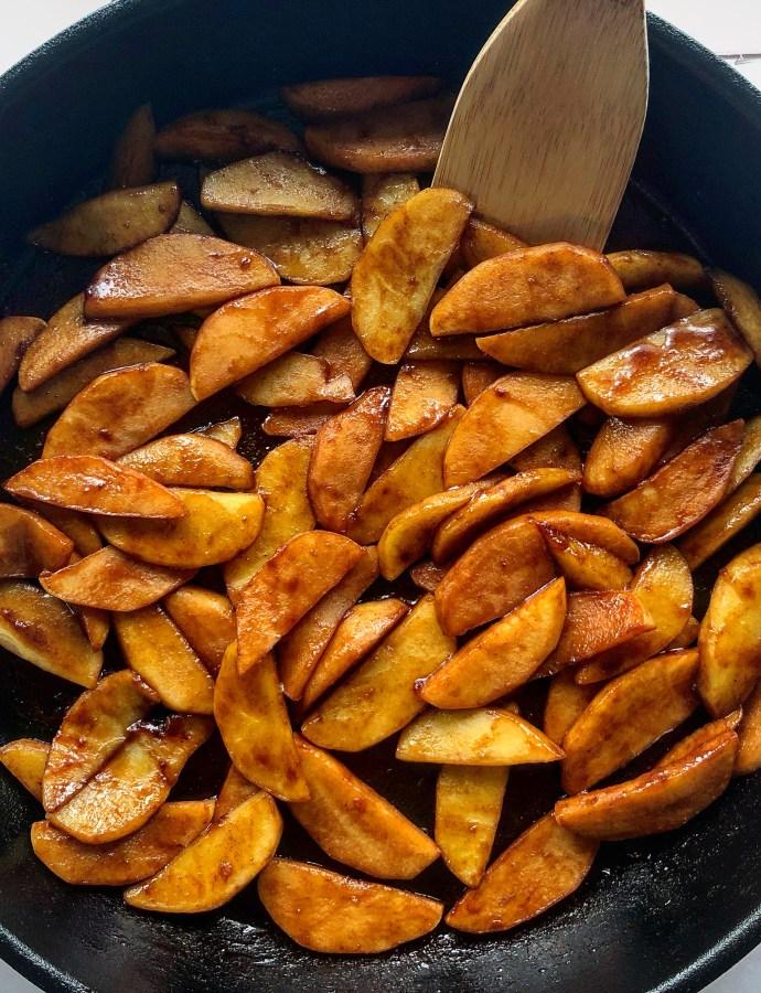 Pan-Fried Cinnamon Apples