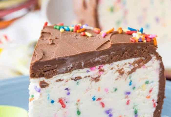 Funfetti Ice Cream Cake Recipe No Churn Cupcakes Kale Chips