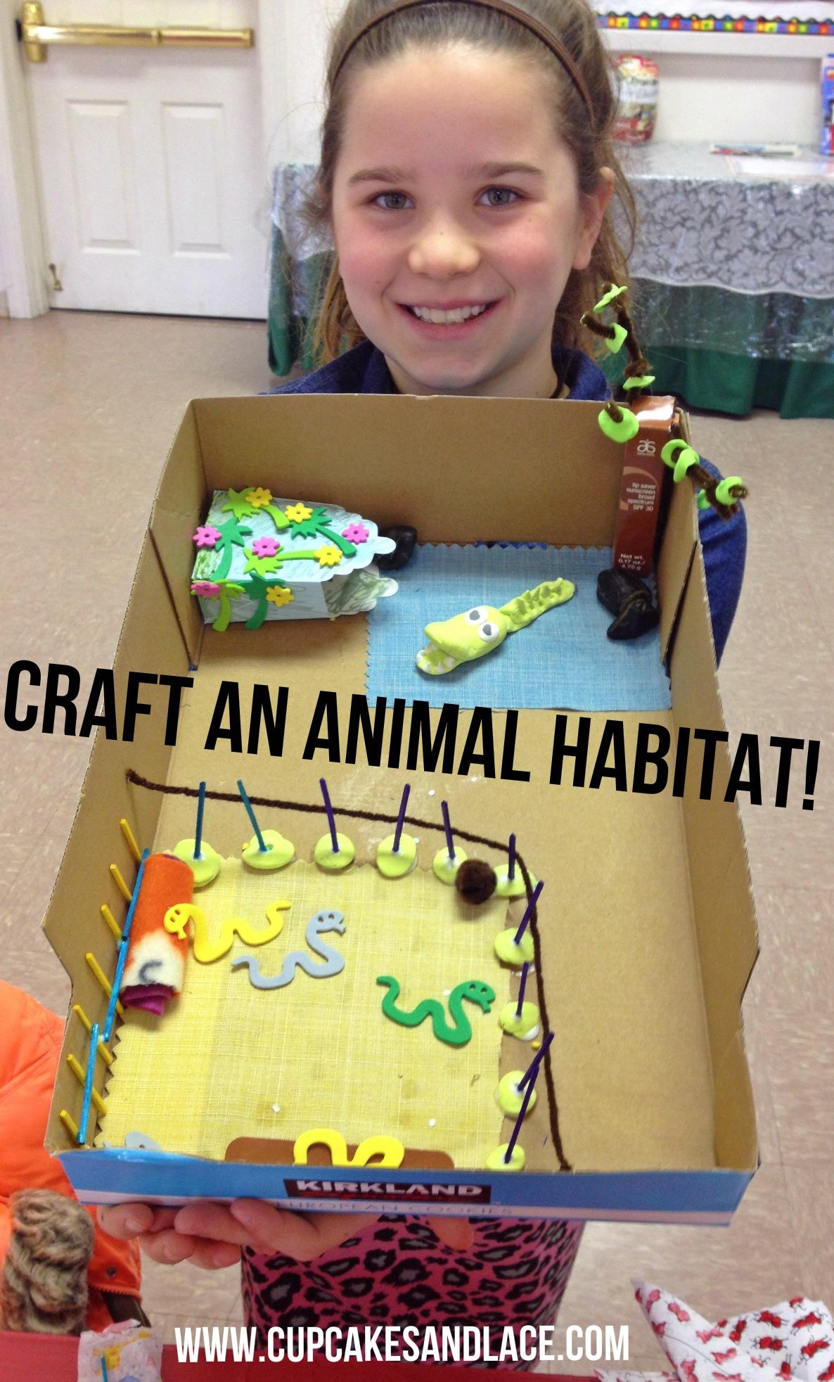 Craft Amp Activity Ideas For Animal Habitats Junior Girl
