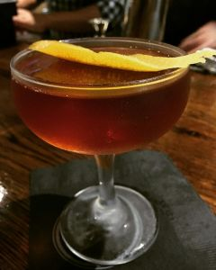 """Manhattan"" Rye Whiskey, Carpano Antica, Aromatic Bitters"