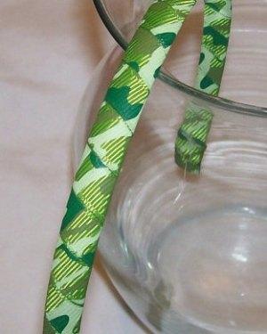 green camouflage headband