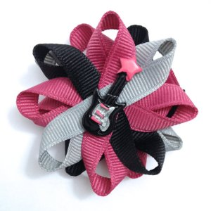 guitar music handmade hair bows