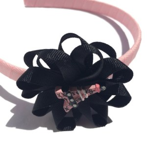 Paris Eiffel Tower Hair Bow Headband