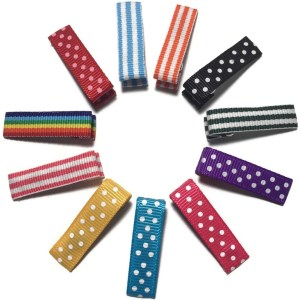 Mini Dot Hair Clips with Teeth