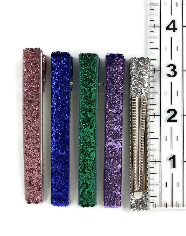 80mm Glitter Clips