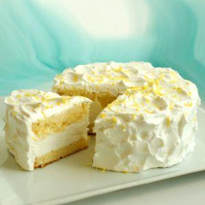 Торт лимонный с лимонным курдом
