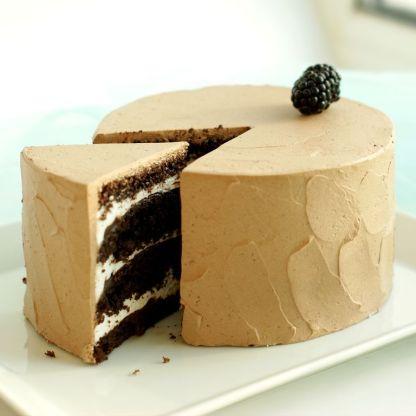 Шоколадный торт с суфле
