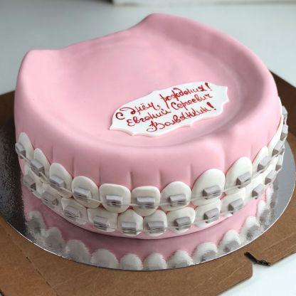 торт для стоматолога