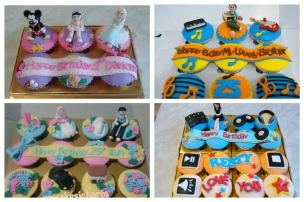 birthday cupcake / ulang tahun