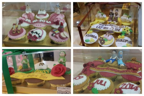 hantaran 1 cupcake