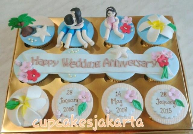 8 Cupcake Anniversary Paling Romantis