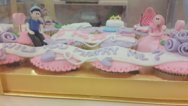 """Will You Marry Me?"" 8 Cupcake Lamaran yang Paling ""So Sweet"" di Jakarta"