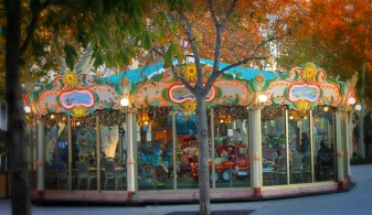 Carousel in the square