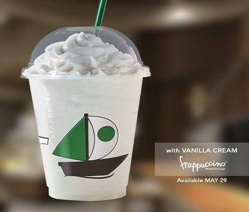 starbucks grande wednesday promo vanilla cream frappuccino
