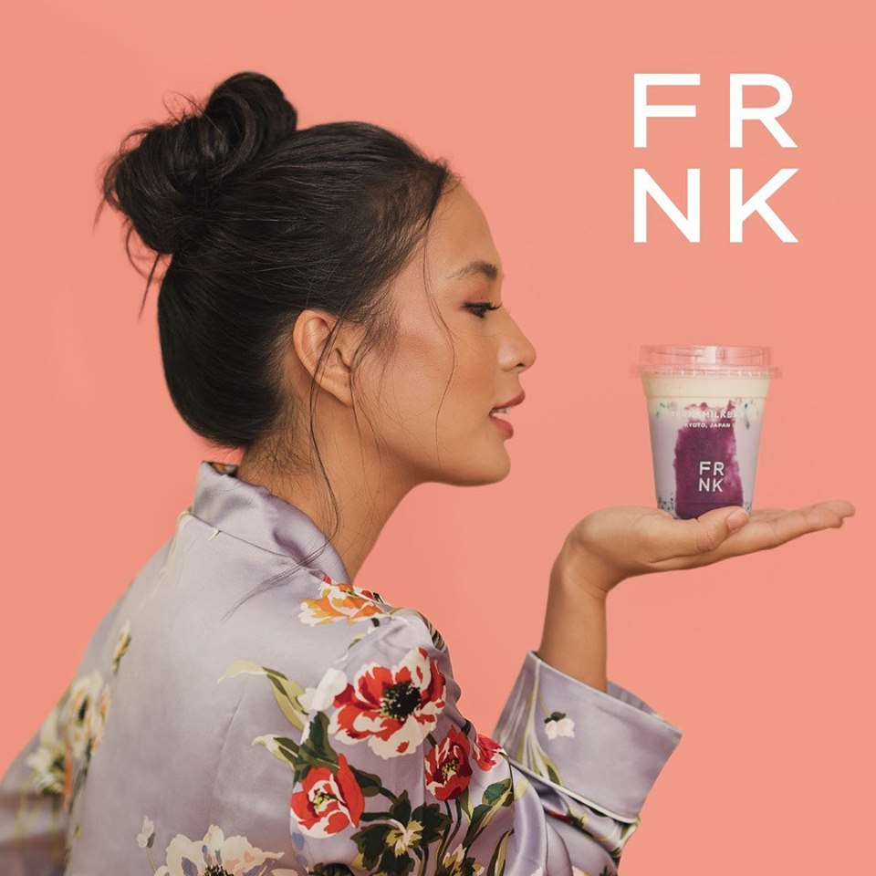 FRNK milk bar isabelle daza