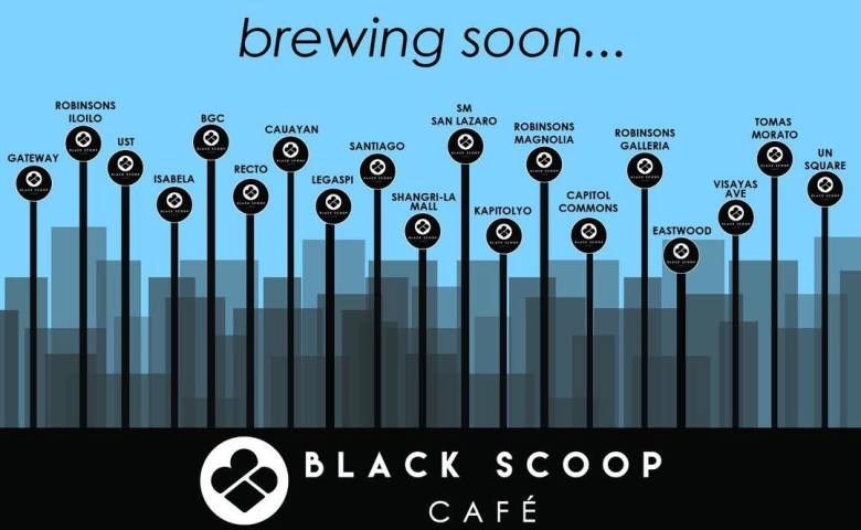 black scoop cafe branches brewing soon
