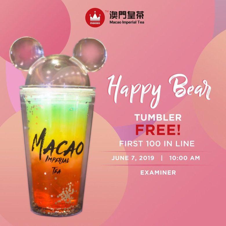 happy bear tumbler macao imperial tea examiner