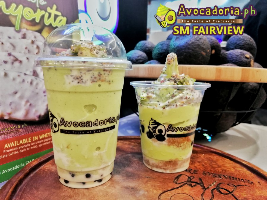 Avocadoria SM Fairview Avocado Shake and Avocado Lover Ice Cream