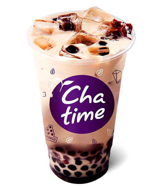chatime red bean pearl milk tea