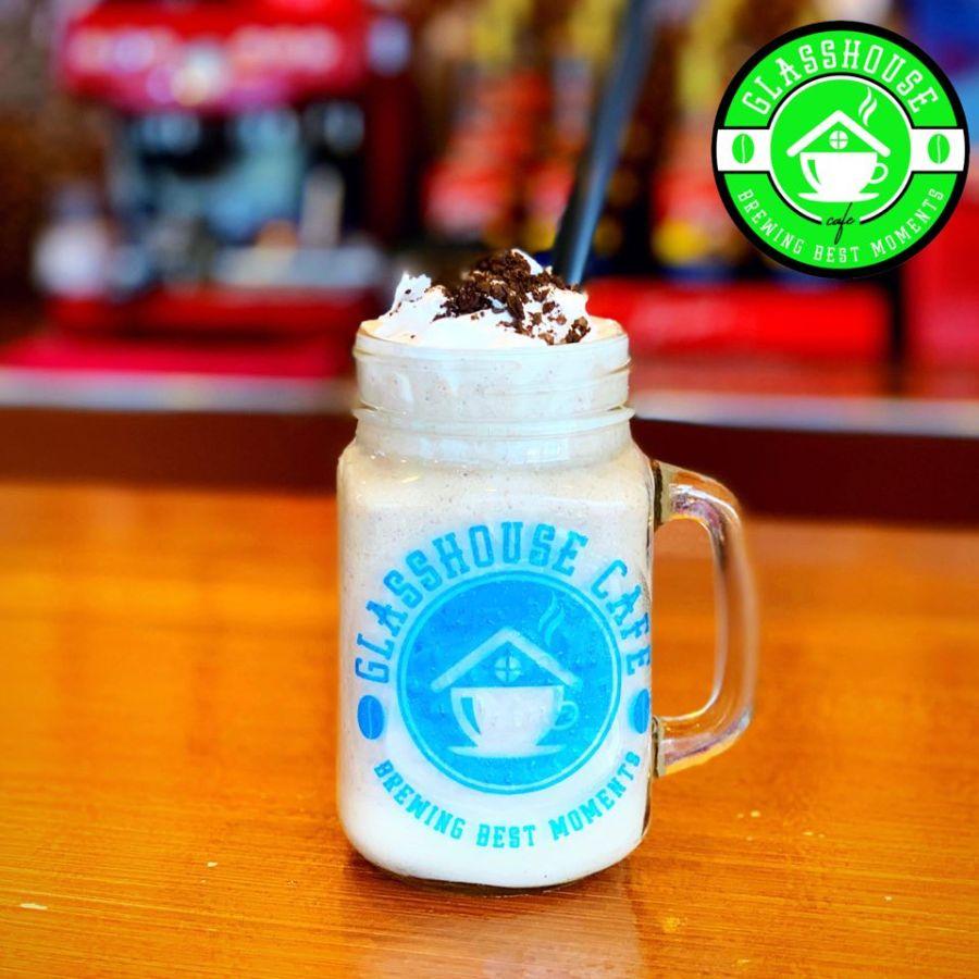 Glasshouse cafe best seller Oreo Cheesecake Frappe