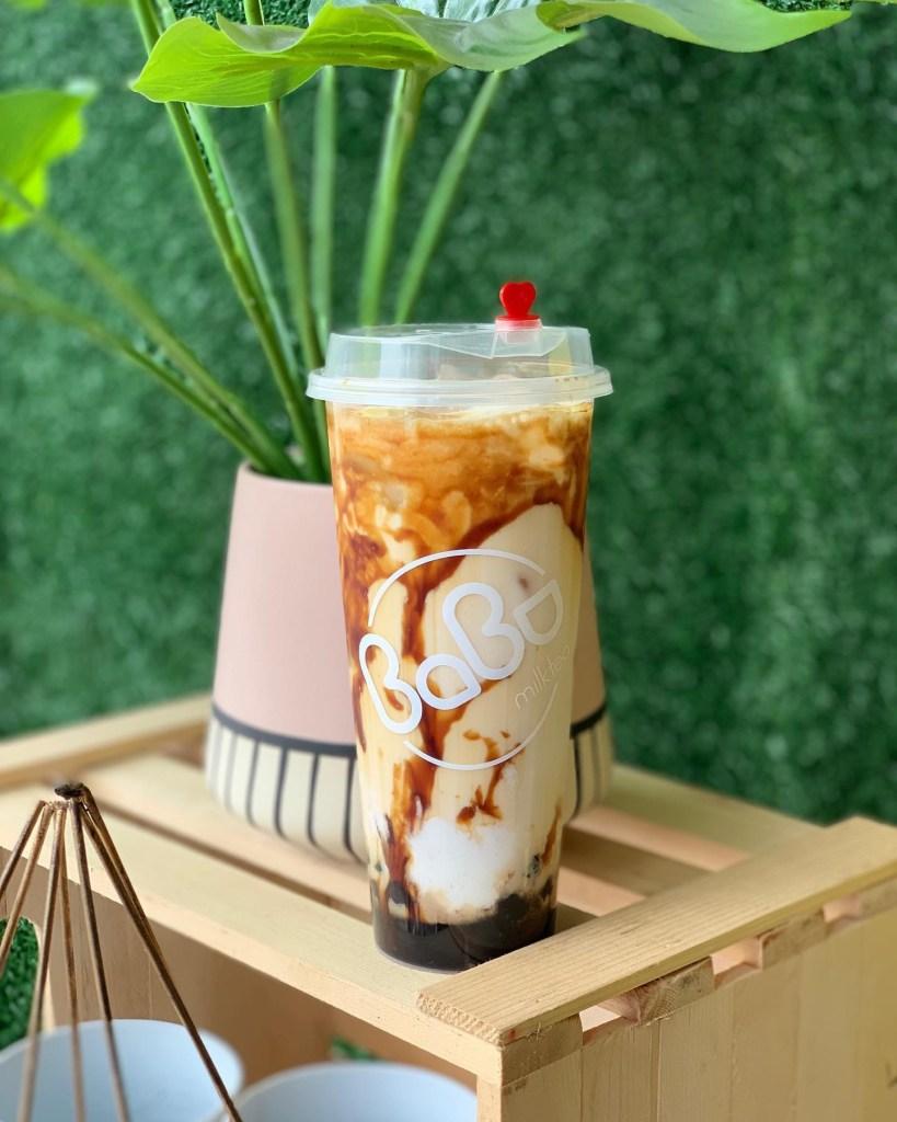 babu milk tea best selling drink