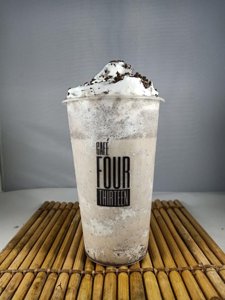 cafe four thirteen oreo milk tea