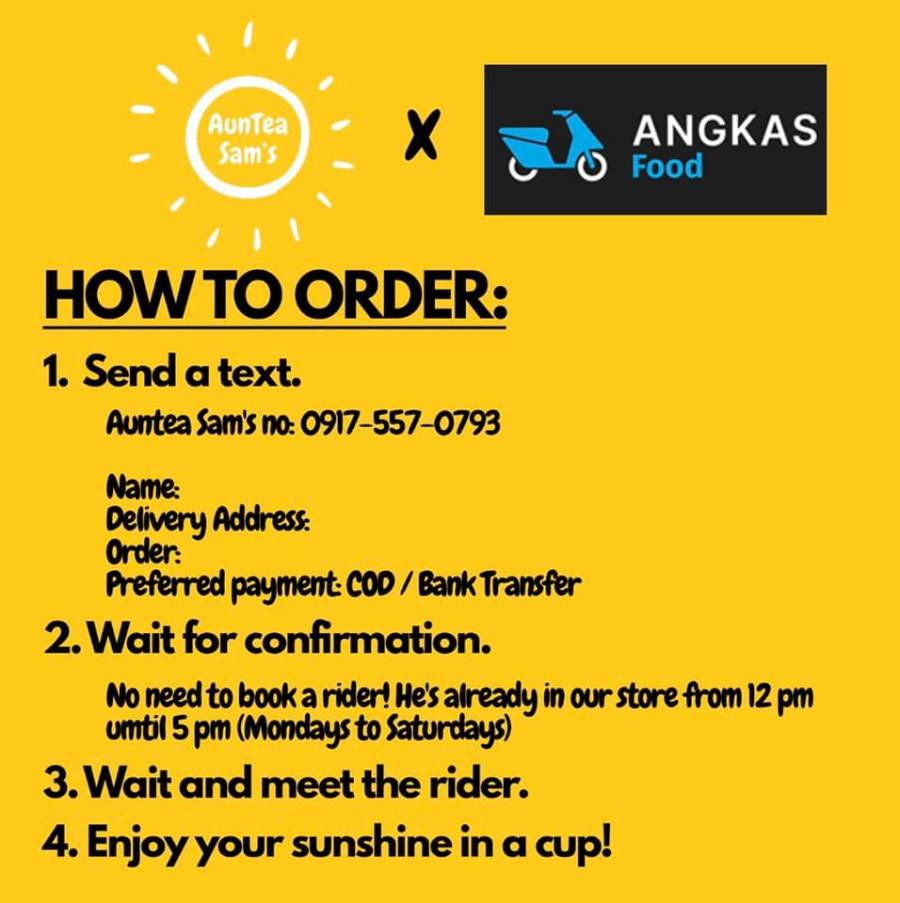 delivery auntea sam's