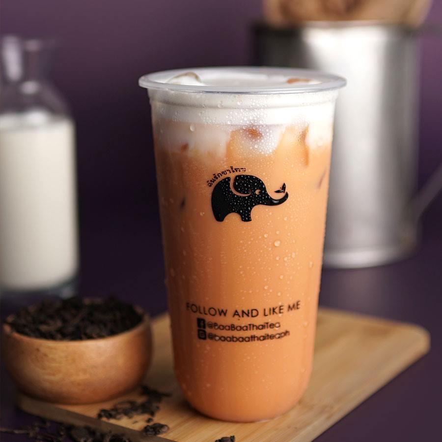 Baa Baa Thai Tea Best Seller Cha Yen