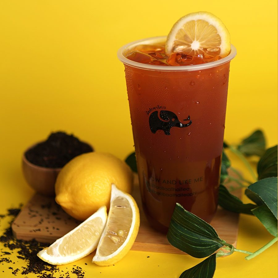Baa Baa Thai Tea Best Seller Thai Lemon Tea