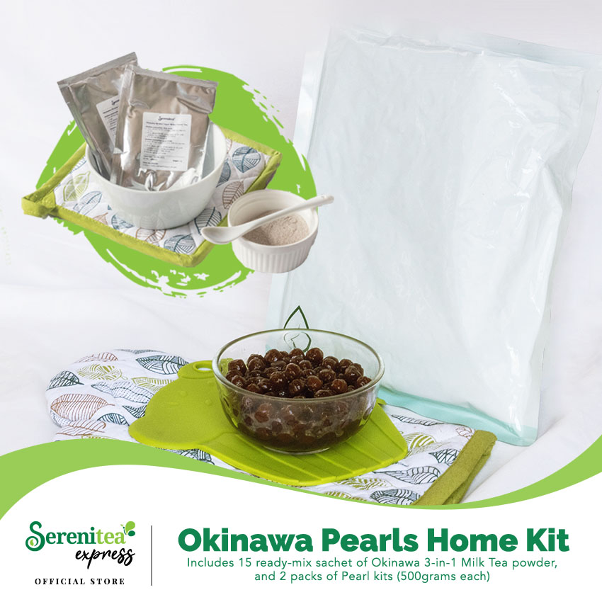 Serenitea Okinawa Milk Tea DIY Home Kit