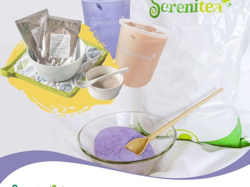 Serenitea Taro and Okinawa DIY Milk Tea Home Kit