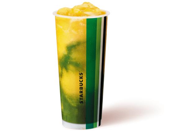 Starbucks Mango Matcha Freeze