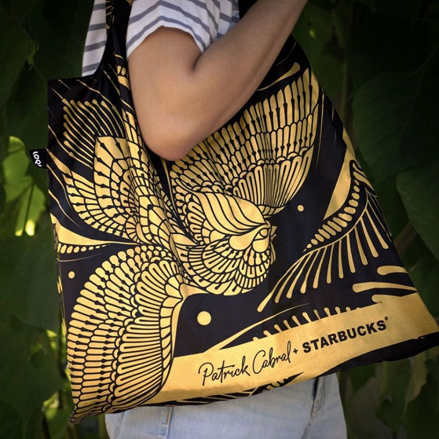 Starbucks x Patrick Cabral Collection LOQl Bag