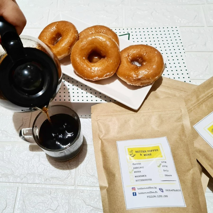 Better Coffee and Donuts