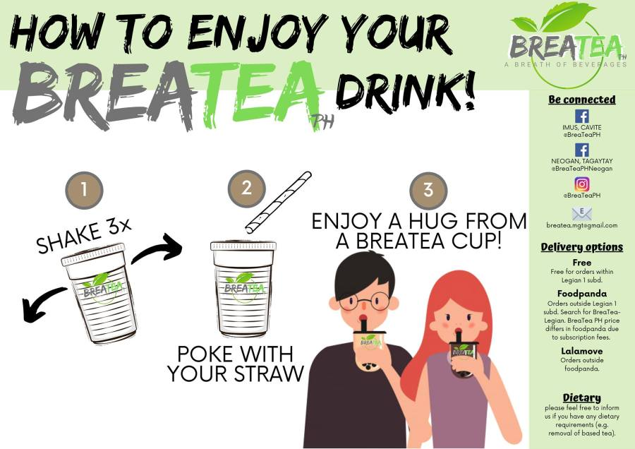 Breatea PH How to Order