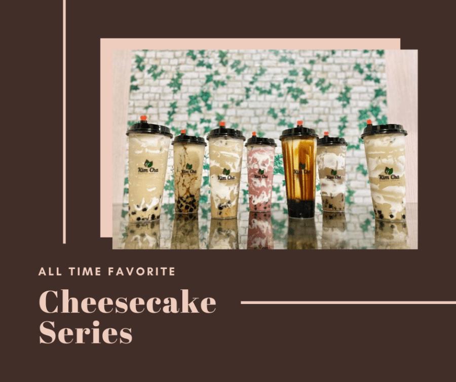 Kim Cha Milktea Station Cheesecake Series