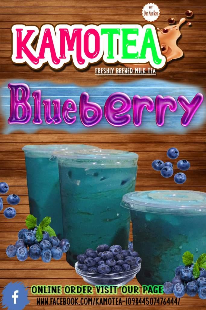 KamoTEA ka ba Blueberry