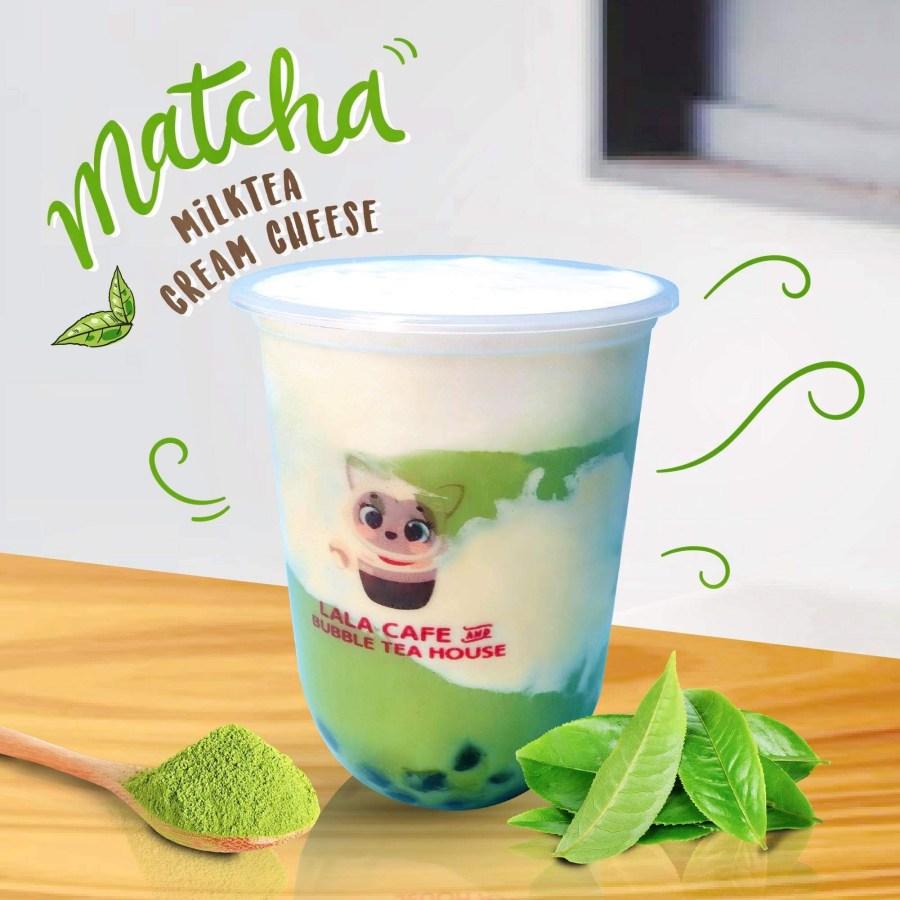 Lala Cafe and Bubble Tea House Matcha