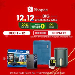 Shopee 12.12 Sale 2020