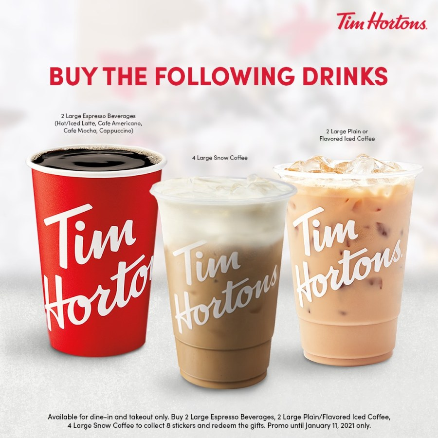 Tim Hortons Great Christmas Deal 2020