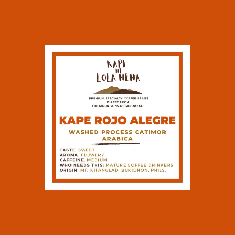 Kape ni Lola Nena Kape Rojo Alegre