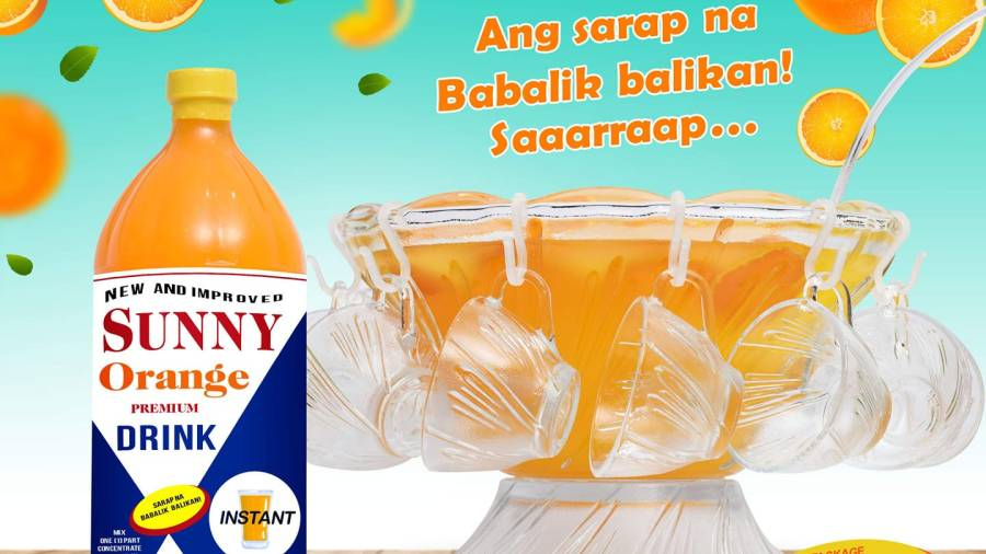 Sunny Orange Premium Orange Concentrate Drink
