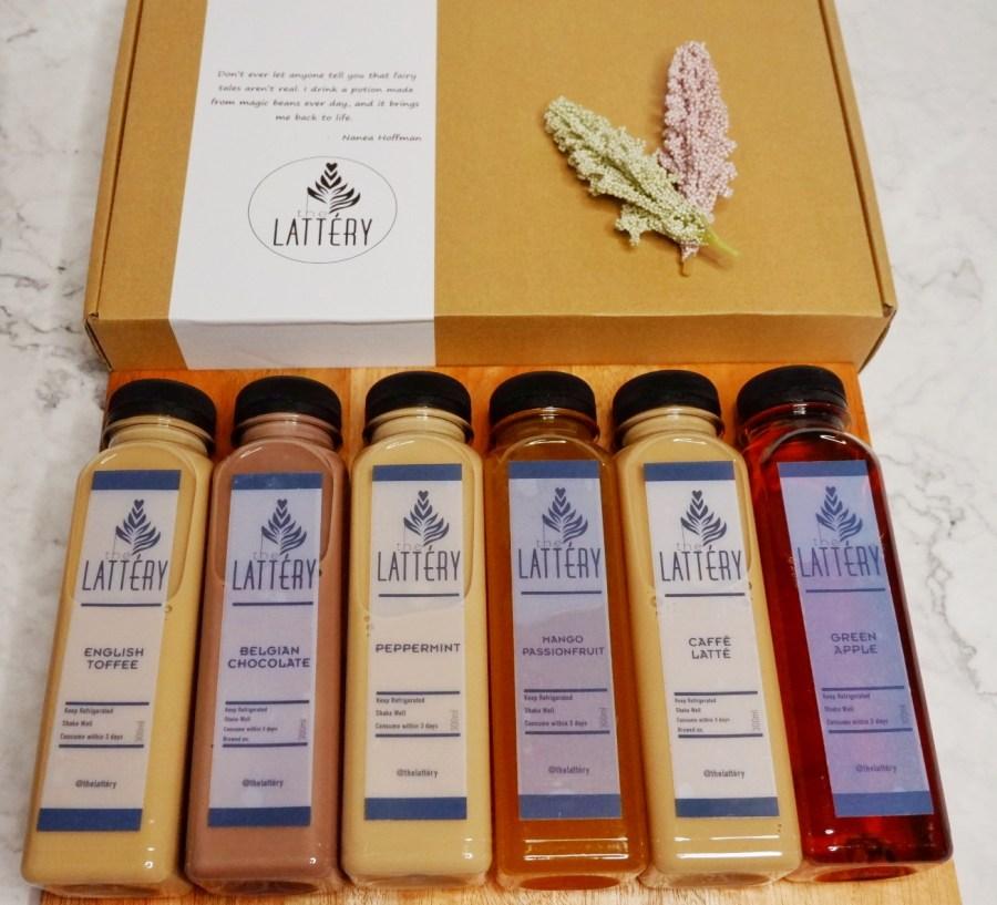The Lattéry Coffee Gift Set
