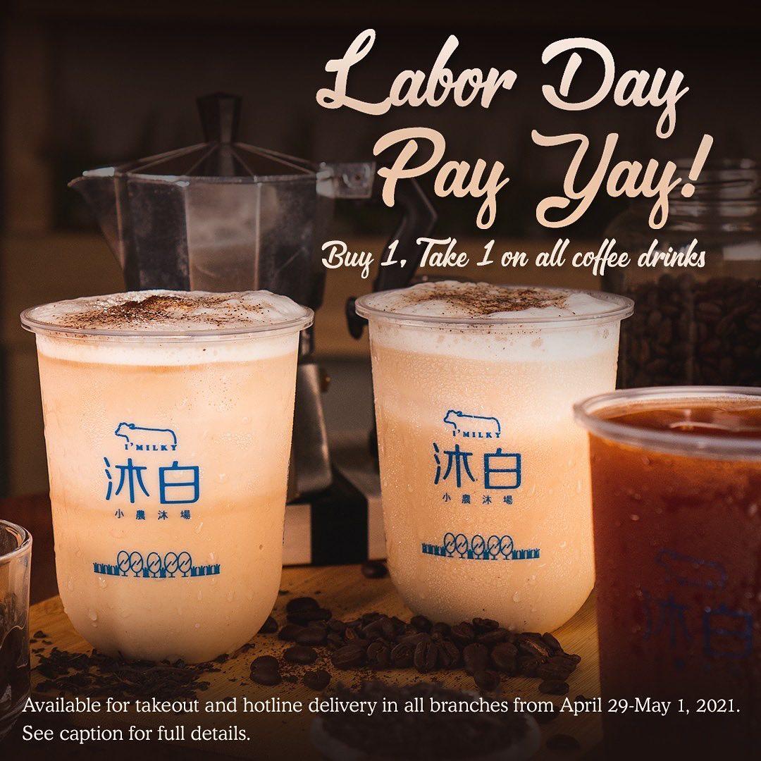 IMilky Labor Day Promo Philippines