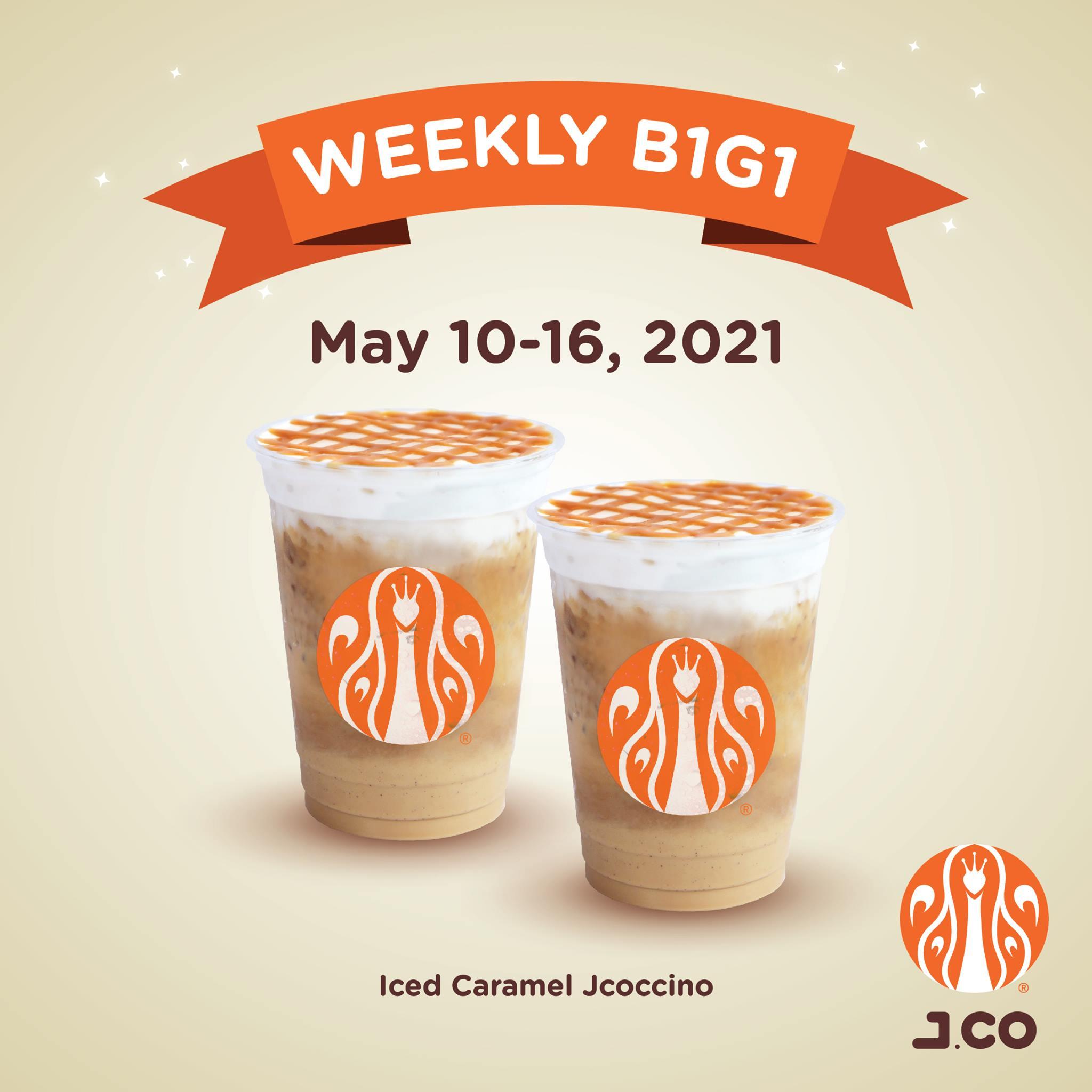 J.CO Weekly Promo May 2021 Ice Caramel Jcoccino