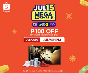Shopee Payday Sale July 15