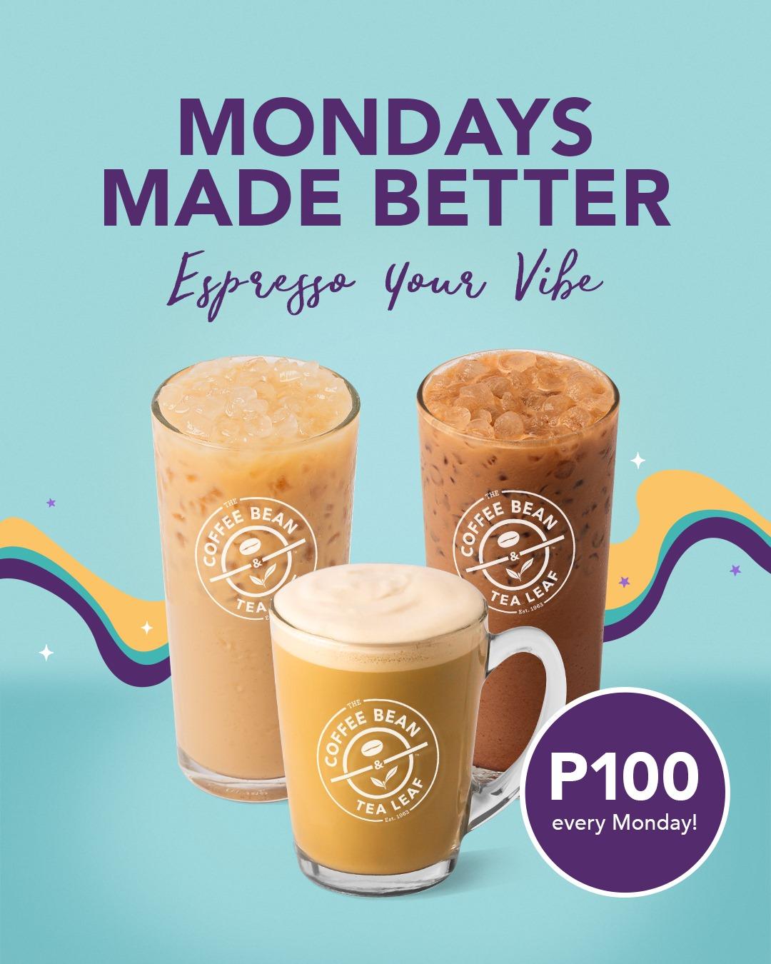 CBTL Promo Espresso your vibes with Mondays Made Better 2021